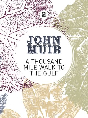 cover image of A Thousand-Mile Walk to the Gulf