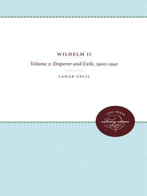 cover image of Wilhelm II