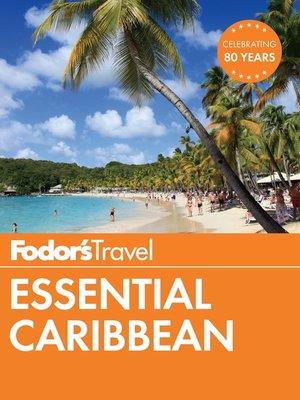cover image of Fodor's Essential Caribbean