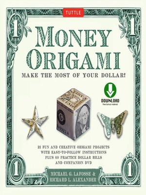 cover image of Money Origami Kit Ebook