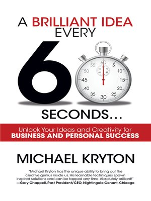 cover image of A Brilliant Idea Every 60 Seconds