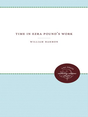 cover image of Time in Ezra Pound's Work
