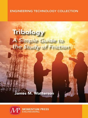 cover image of Tribology
