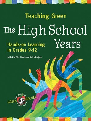 cover image of Teaching Green--The High School Years