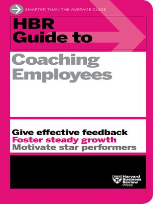 cover image of HBR Guide to Coaching Employees (HBR Guide Series)