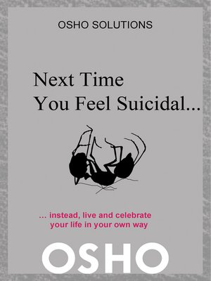cover image of Next Time You Feel Suicidal?