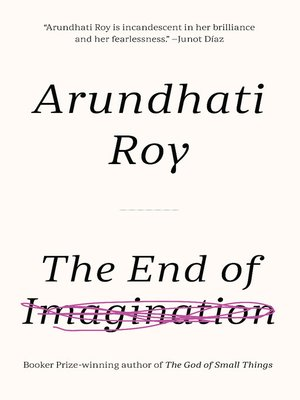cover image of The End of Imagination