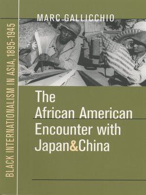 cover image of The African American Encounter with Japan and China