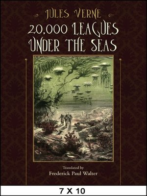 cover image of 20,000 Leagues Under the Seas