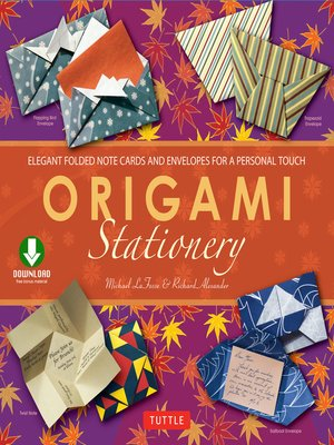 cover image of Origami Stationery