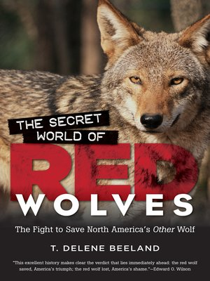 cover image of The Secret World of Red Wolves
