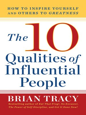 cover image of The 10 Qualities of Influential People