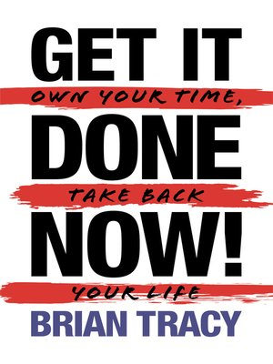 cover image of Get It Done Now!--