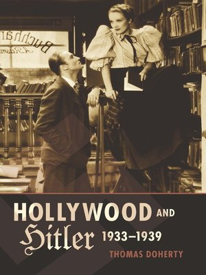cover image of Hollywood and Hitler, 1933-1939