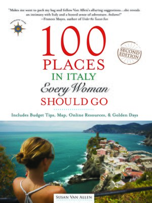 cover image of 100 Places in Italy Every Woman Should Go