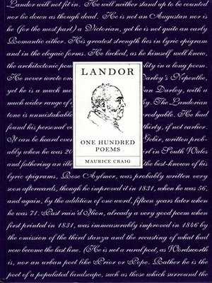 cover image of Landor