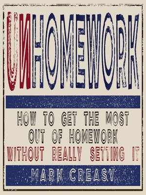 cover image of Unhomework