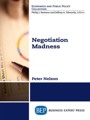 cover image of Negotiation Madness