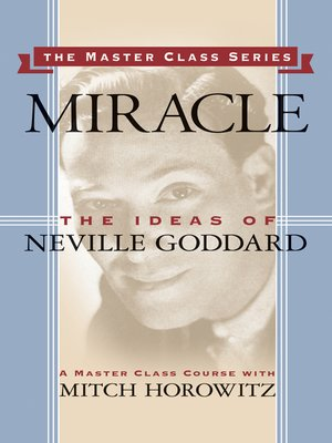 cover image of Miracle (Master Class Series)