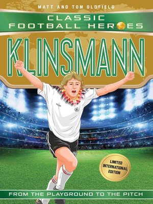 cover image of Klinsmann (Classic Football Heroes--Limited International Edition)