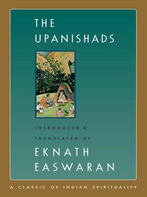 cover image of The Upanishads