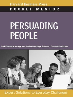cover image of Persuading People