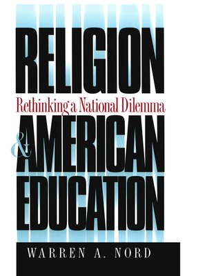 cover image of Religion and American Education