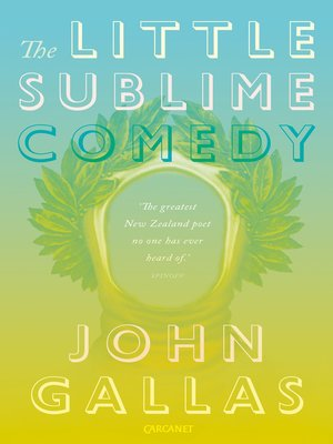 cover image of The Little Sublime Comedy