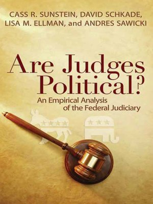cover image of Are Judges Political?