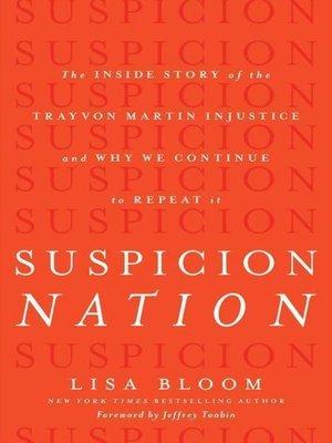 cover image of Suspicion Nation