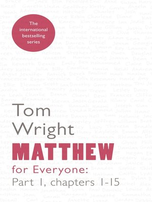 cover image of Matthew for Everyone Part 1