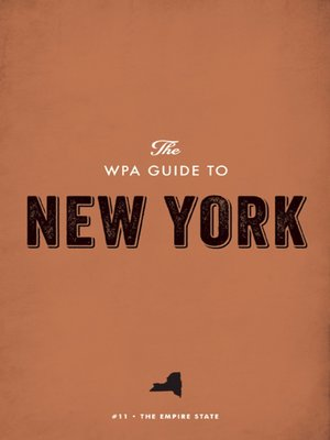 cover image of The WPA Guide to New York