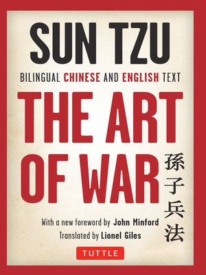 cover image of Sun Tzu's the Art of War
