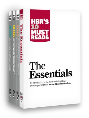 cover image of HBR's 10 Must Reads Big Business Ideas Collection (2015-2017 plus the Essentials)
