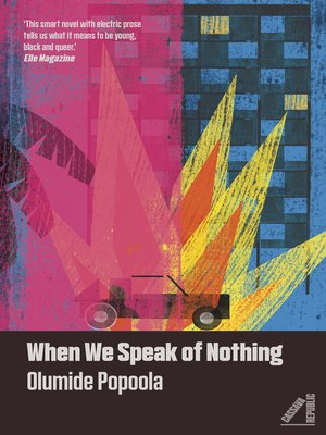 cover image of When We Speak of Nothing