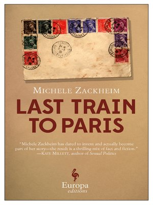 cover image of The Last Train to Paris