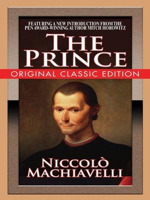 Il Principe (capitoli scelti) (Audio-eBook) (Italian Edition)