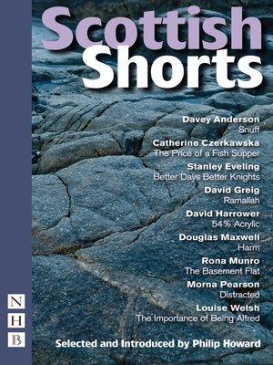 cover image of Scottish Shorts (NHB Modern Plays)