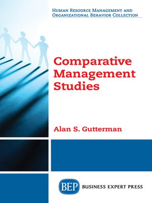 cover image of Comparative Management Studies