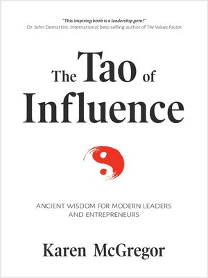 cover image of The Tao of Influence