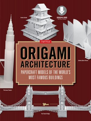 cover image of Origami Architecture (144 pages)