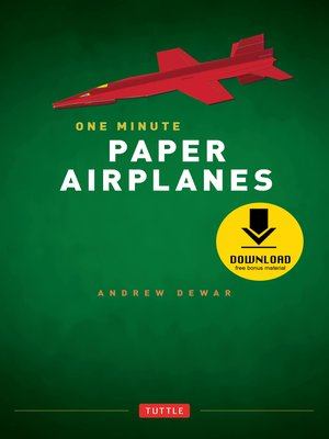 cover image of One Minute Paper Airplanes