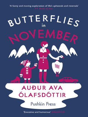 cover image of Butterflies in November