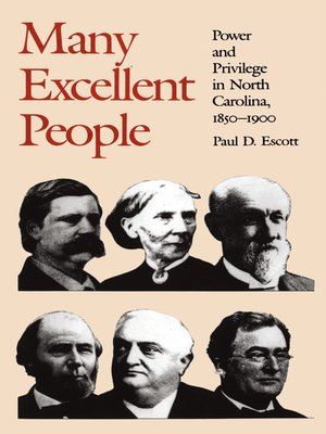 cover image of Many Excellent People