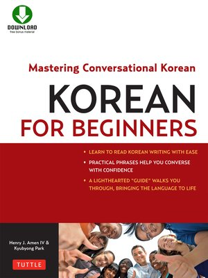 cover image of Korean for Beginners