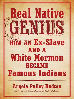 cover image of Real Native Genius