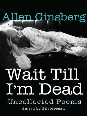cover image of Wait Till I'm Dead