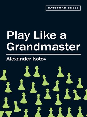 Cover Image Of Play Like A Grandmaster