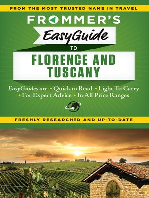 cover image of Frommer's EasyGuide to Florence and Tuscany