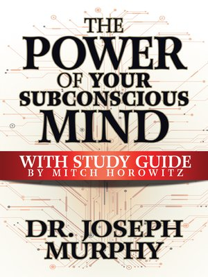 cover image of The Power of Your Subconscious Mind with Study Guide